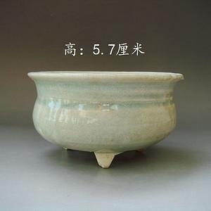 【季度大拍】元代影青瓷小琴炉