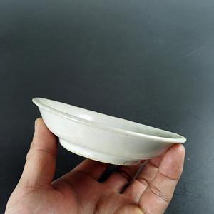 【金牌】明代甜白釉小碟