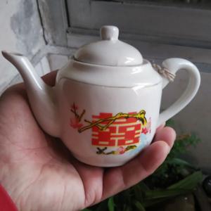 文革双喜茶壶