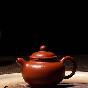 【联盟】朱泥圆珠壶——季红