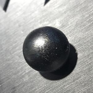 天然清代老xj纯黑单珠20mm多宝必备