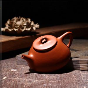 【联盟】朱泥石瓢壶——单芳