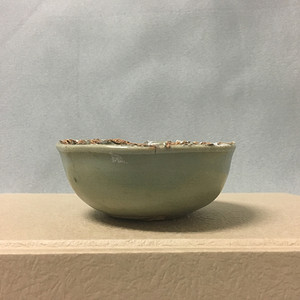 【联盟】元龙泉窑美釉卧足杯
