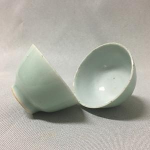 【金牌】清中美釉小茶杯一对