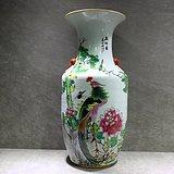 民国洋彩-五伦图150件花瓶
