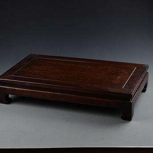 花梨木素面鬼脸纹 小案桌 炕桌