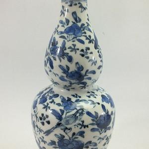 清朝青花葫芦瓶