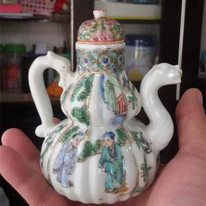 清朝葫芦型茶壶