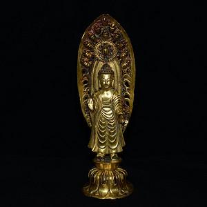 老鎏金 藏传佛像