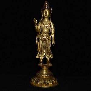 鎏金藏传 佛像  造像