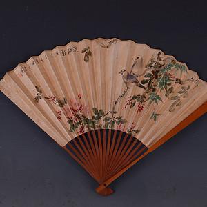 花鸟图 折扇