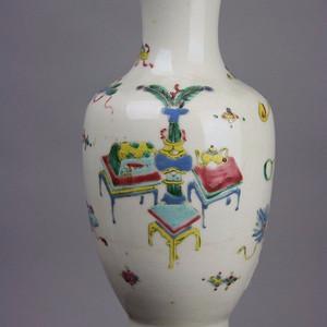 清早博古花瓶