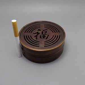 福到家 铜香熏炉