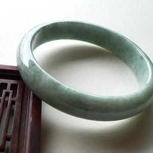 A货翡翠冰糯种手镯44.58g