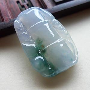 A货翡翠冰种节节高7.05g