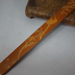 【竹雕精品】双面竹雕裁纸刀