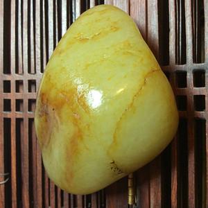 118克和田黄籽原石