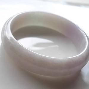 A货翡翠冰糯种手镯53.15g