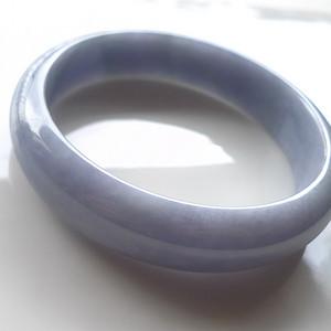 A货翡翠冰糯种手镯59.57g