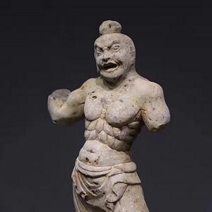 【典藏】精品到代石雕力士像