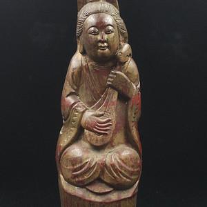 几十年以上的老竹雕