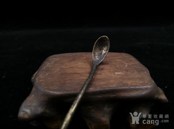 鎏金鸬鹚水勺图2