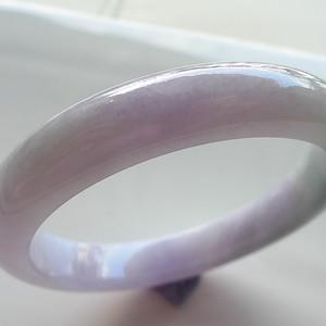 A货翡翠冰糯种手镯54.92g