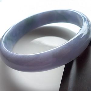 A货翡翠冰糯种手镯60.40g