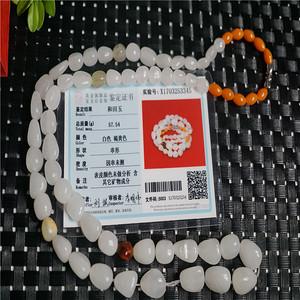 57.54克和田一级白玉项链