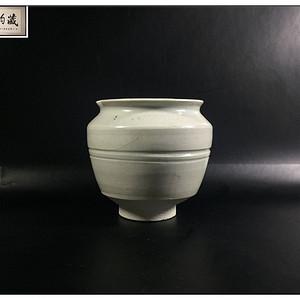 宋 精品影青旋纹茶叶罐