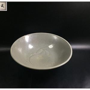 宋 精品青釉鹅碗