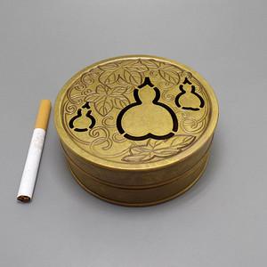 葫芦铜香薰炉