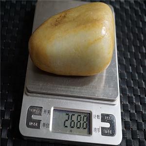 268克和田籽料原石