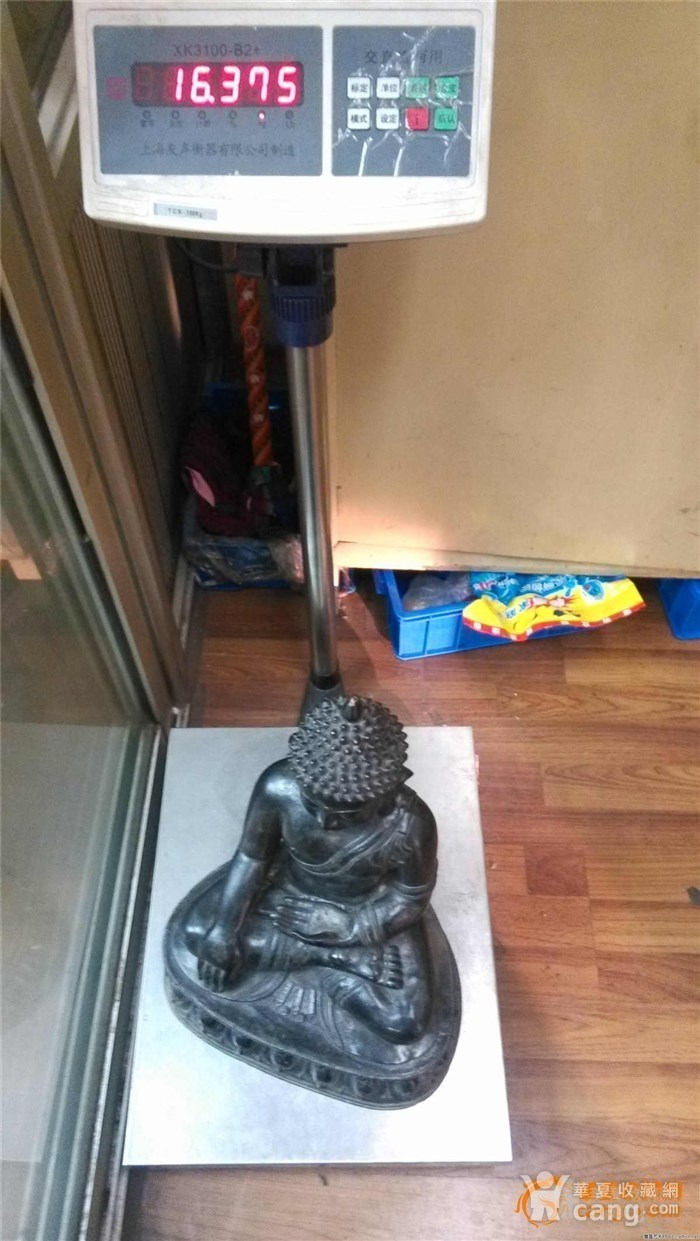 重33斤高47厘米  清中期释迦摩尼铜佛像图12