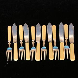 回流刀叉餐具一套12件