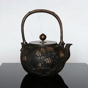 【精品】日本亀文堂家戊款鉄壶