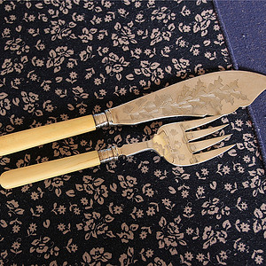 【珍贵材质】回流刀叉餐具2件套(4)