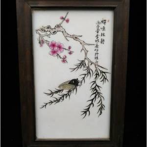 景德镇名家李明亮瓷板画