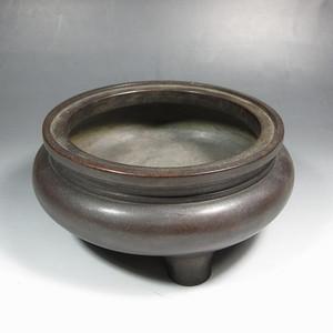 回流:红铜鬲式三足炉