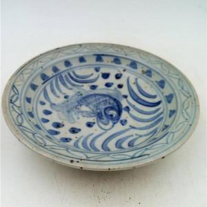 青花鱼纹碗