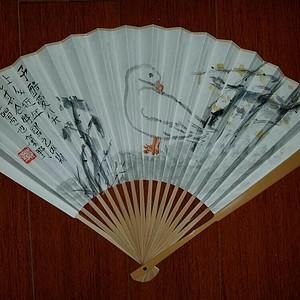 【联盟】(已鉴定)绝对收藏精品:苏州美协主席—贺野成扇