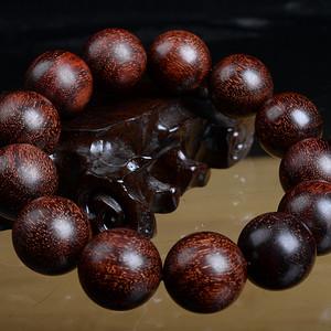 【钻石】印度小叶紫檀手串