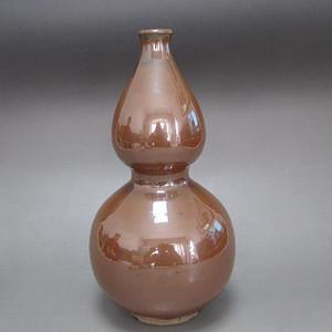 【联盟】元紫金釉葫芦瓶