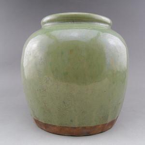 38.民国~宜钧釉绿釉罐