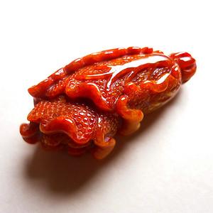 天然A货翡翠老坑水润红翡招财白菜