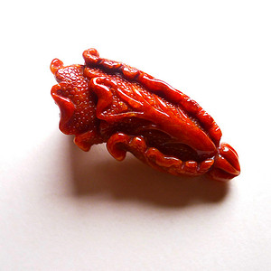 天然A货翡翠好种帝王红招财白菜