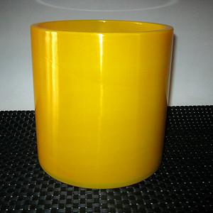 (联盟)回流民国鸡油黄料器笔筒