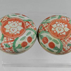 红绿彩粉盒【联盟】