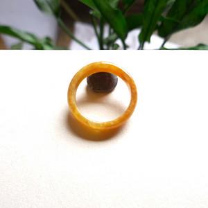 天然A货翡翠老坑水润红翡戒指
