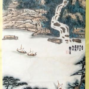【联盟】山水画一幅-国画